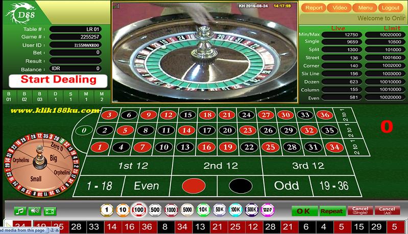 Cara daftar roulette GD88
