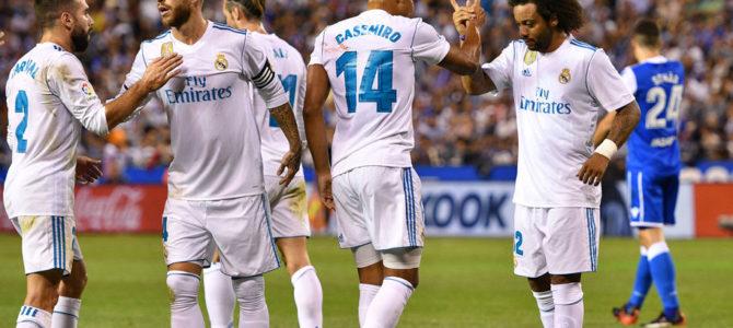 Real Madrid Kuasai Puncak Klasemen Usai Bungkam La Coruna 3-0