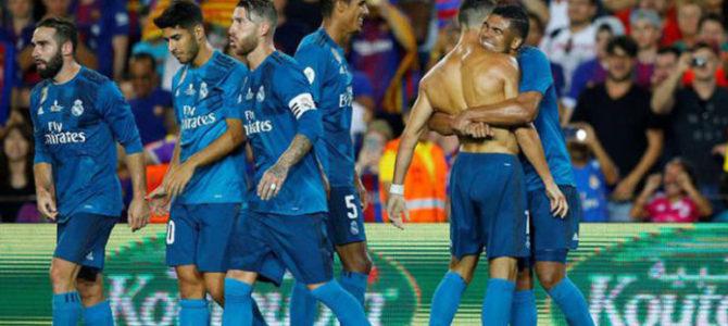 Real Madrid Taklukkan Barcelona 3-1 di Camp Nou