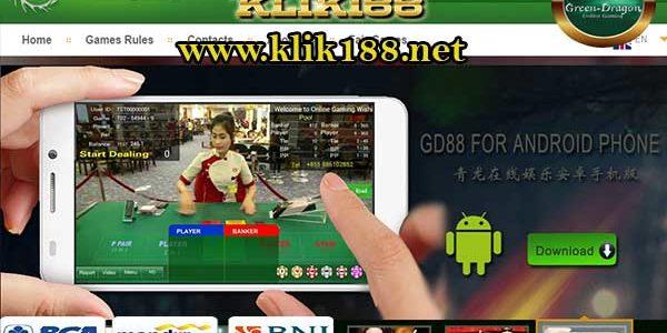 Cara Daftar GD88 Casino Online