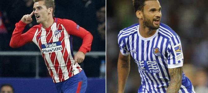 Prediksi Skor Atletico Madrid vs Real Sociedad 02 Desember 2017