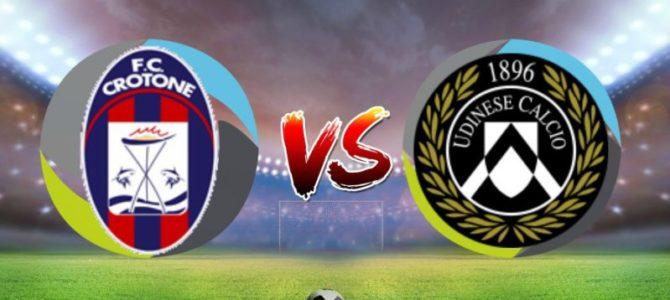 Prediksi Skor Crotone vs Udinese 05 Desember 2017