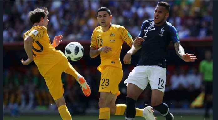 Laporan Pertandingan Sepakbola Timnas Perancis VS Timnas Australia