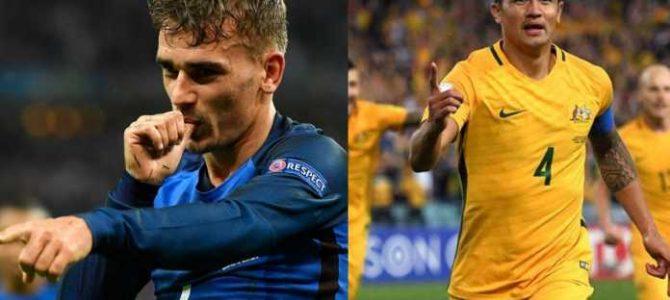 Prediksi Pertandingan Sepakbola Timnas Perancis VS Timnas Australia